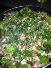 veggies pan